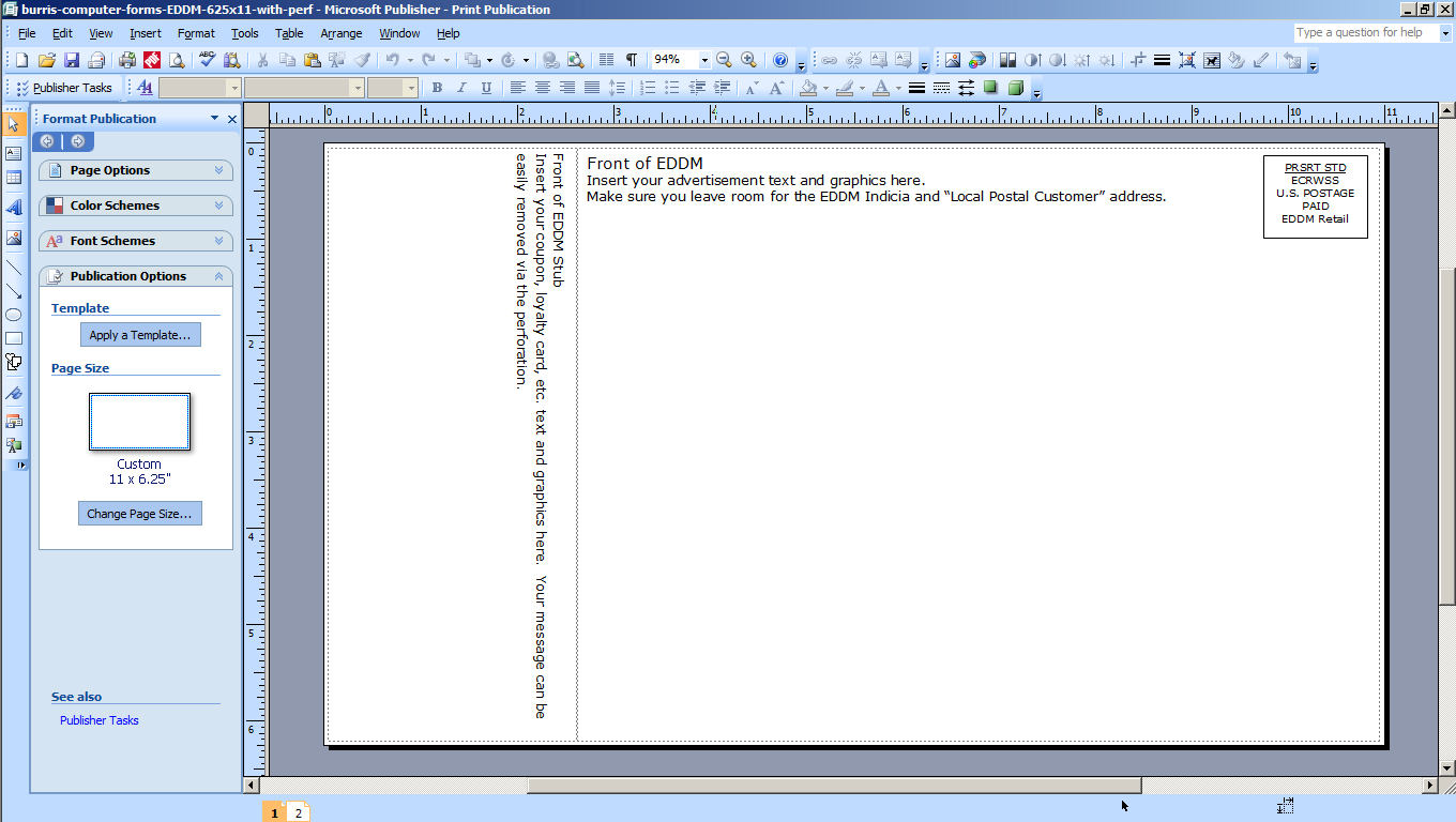 How To Print A Two Sided Document Using Microsoft Word Or Publisher