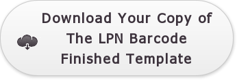 Download Your Copy of The LPN Barcode Finished Template