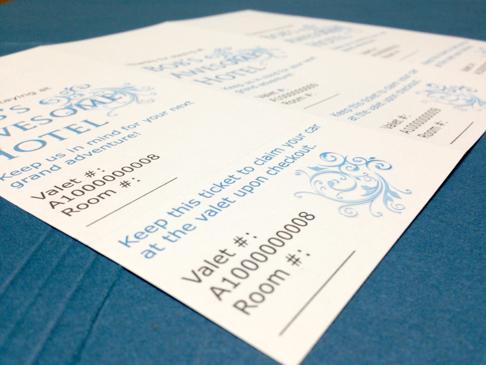 How To Print Your Own Valet Parking Tags Burris Computer Forms