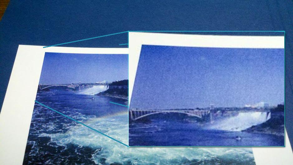 Inkjet Vs Laser Printing Photographs Print Close Up Farther Away