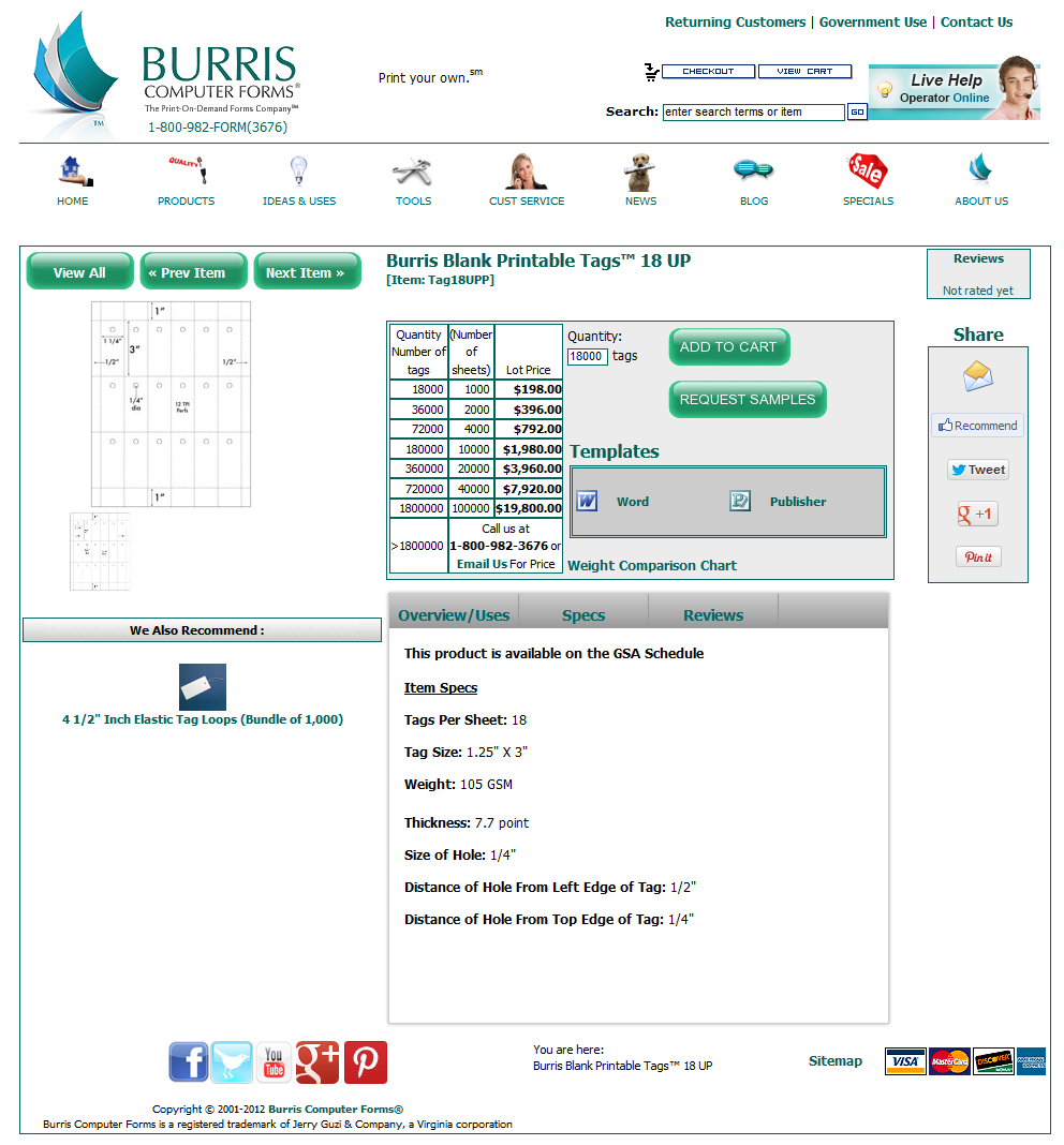 How to print your own key tags for dealerships burris computer forms kt step 1a download the key tag template ccuart Choice Image