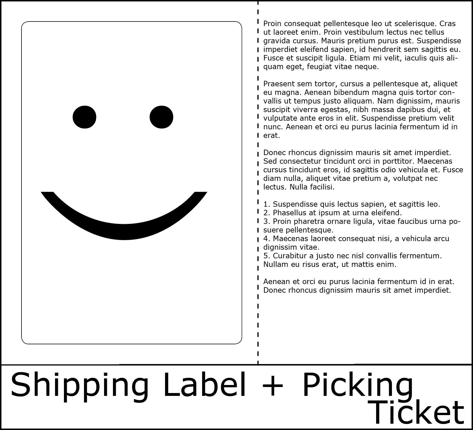 Doc582746 Sample Packing Slip Free Packing Slip Template for – Packing Slip Template