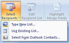 MM 2b Create the mail merge list in Microsoft Word
