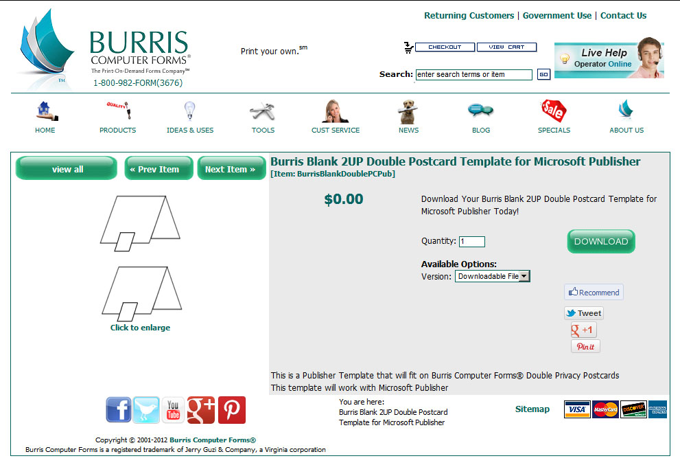 How To Make Appointment Reminder Cards Burris Computer Forms – Free Microsoft Word Postcard Template