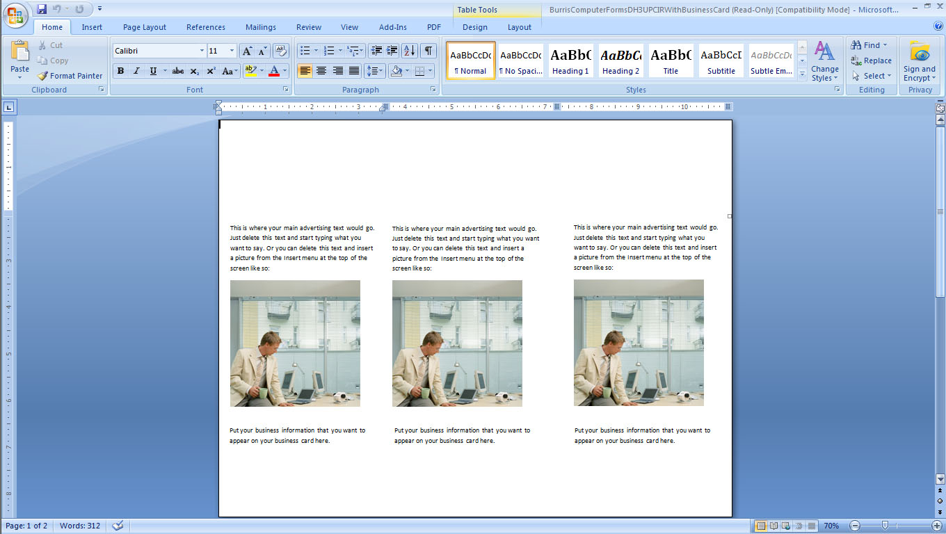 templates on microsoft word