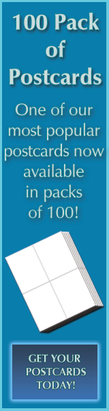 100 Pack Postcards