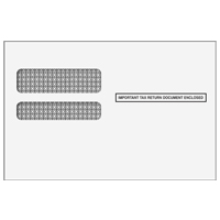 Affordable Care Act 1095 Double Window Envelope (Moisture Seal)