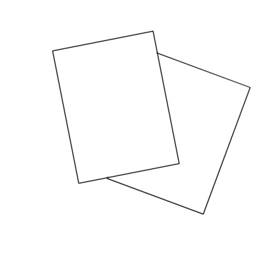 Burris Blank Jumbo Single Postcard Template For Microsoft Word - Jumbo postcard template
