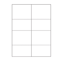 Burris Blank Utility Template (Portrait View) for Microsoft Publ