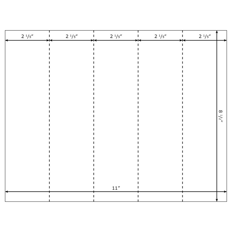 burris blank printable bookmarks 5up template for microsoft word