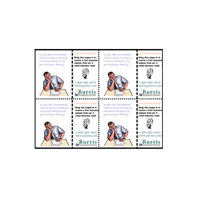 Burris Coupon Postcard Template for Microsoft Word – Word Template Coupon