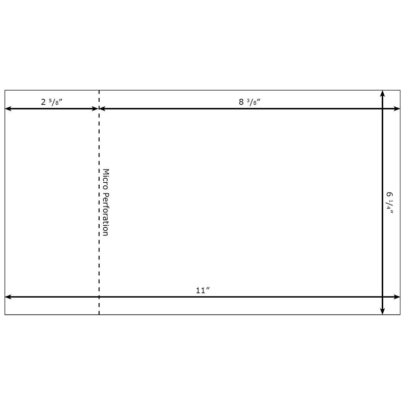 burris eddm template for microsoft word with tear off stub. Black Bedroom Furniture Sets. Home Design Ideas