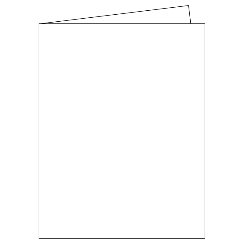 blank greeting cards measuring 5 1 2 x 8 1 2 inches when folded