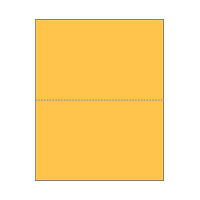 Print On Demand Jumbo Bright Color Postcards - Goldenrod