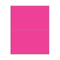 Print On Demand Jumbo Bright Color Postcards - Popping Pink