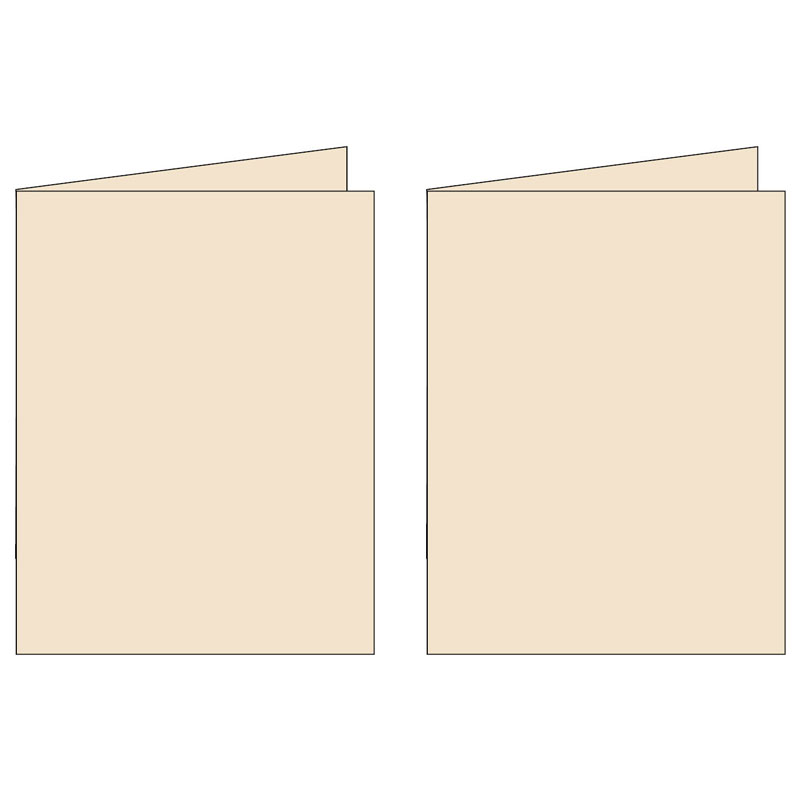 Note Cards - Classy Cream (2UP) 3