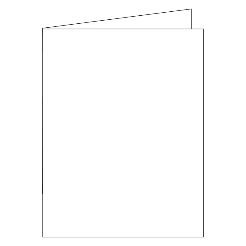 Note Cards -Cut - Standard White 3