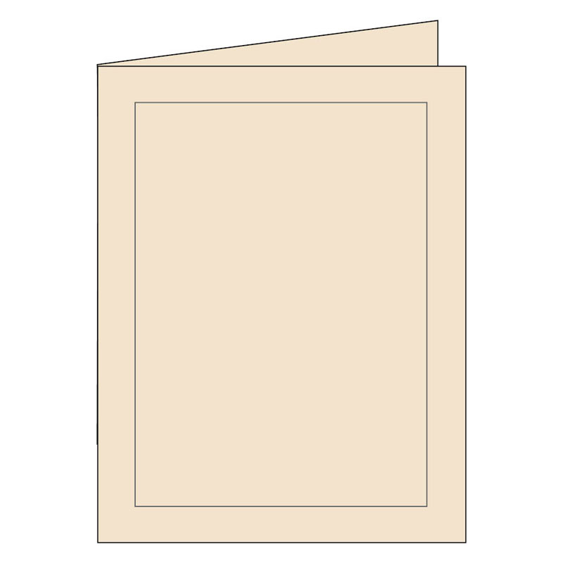 Panel Note Cards - Classy Cream 3