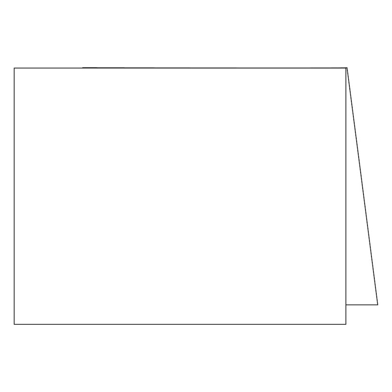 Note Cards -Cut - Standard White 2