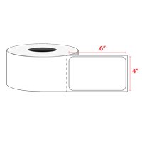 "4 x 6"" Direct Thermal Label Roll"