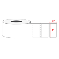 "4 x 2"" Thermal Transfer Label Roll"