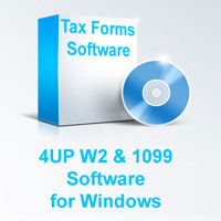 4UP Tax Form Software for Windows