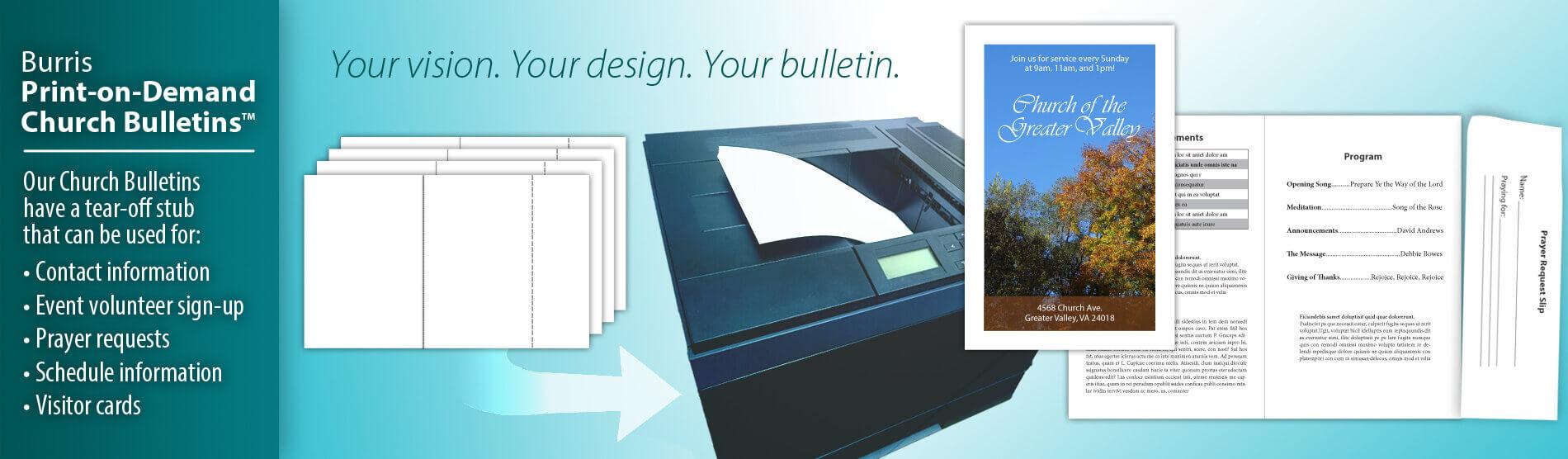blank church bulletins printable church bulletins