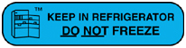 printable do not freeze labels