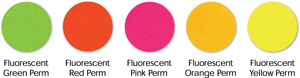 Label Fluorescent Colors