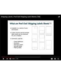 Blank Mailing Label Sheets - Legal Size - LS-Address-14P 2