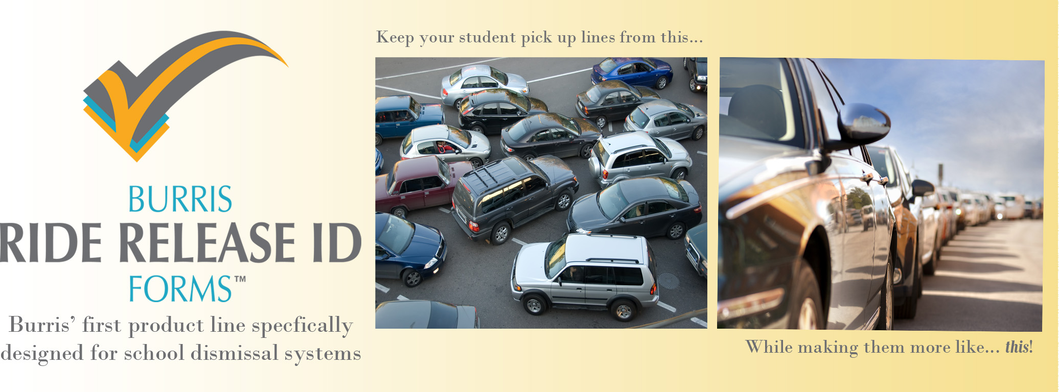 Burris products for student car line pickup systems and software