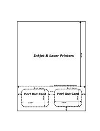 "photo regarding Printable Id Cards named Printable Subscription / Identification Cardâ""¢ - Conventional White"